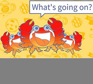 为啥煮熟的螃蟹会变红?